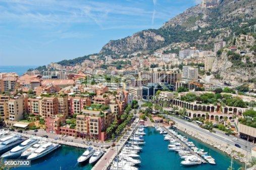 Monaco View Stock Photo & More Pictures of Apartment
