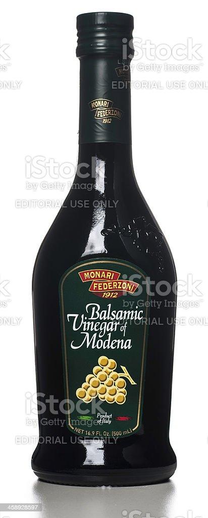 Monari Federzoni Balsamic Vinegar of Modena bottle royalty-free stock photo