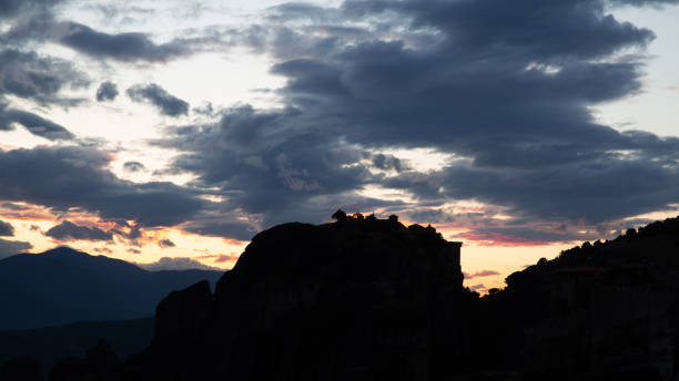 Klöster und Felsformationen in Meteora, Griechenland – Foto
