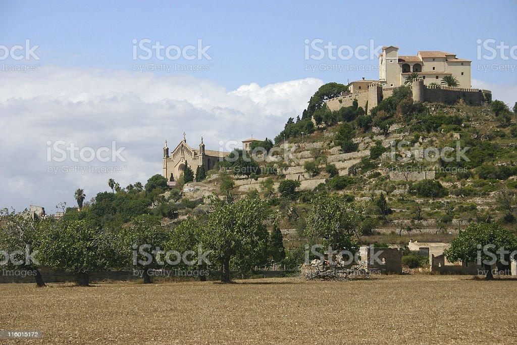 Monasterio de Artà royalty-free stock photo