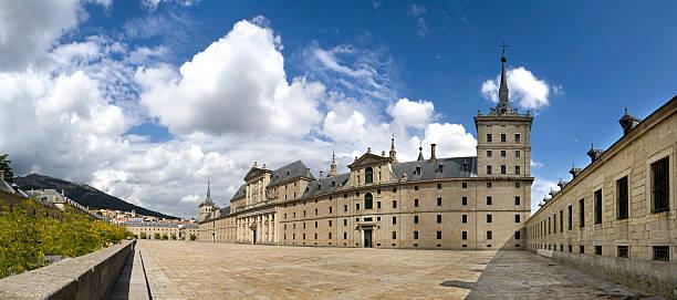 Monasterio de El Escorial stock photo