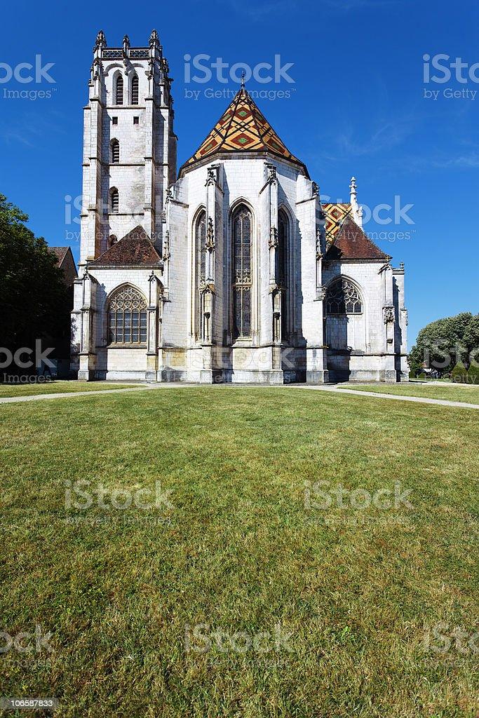 Monastère et herbe - Photo