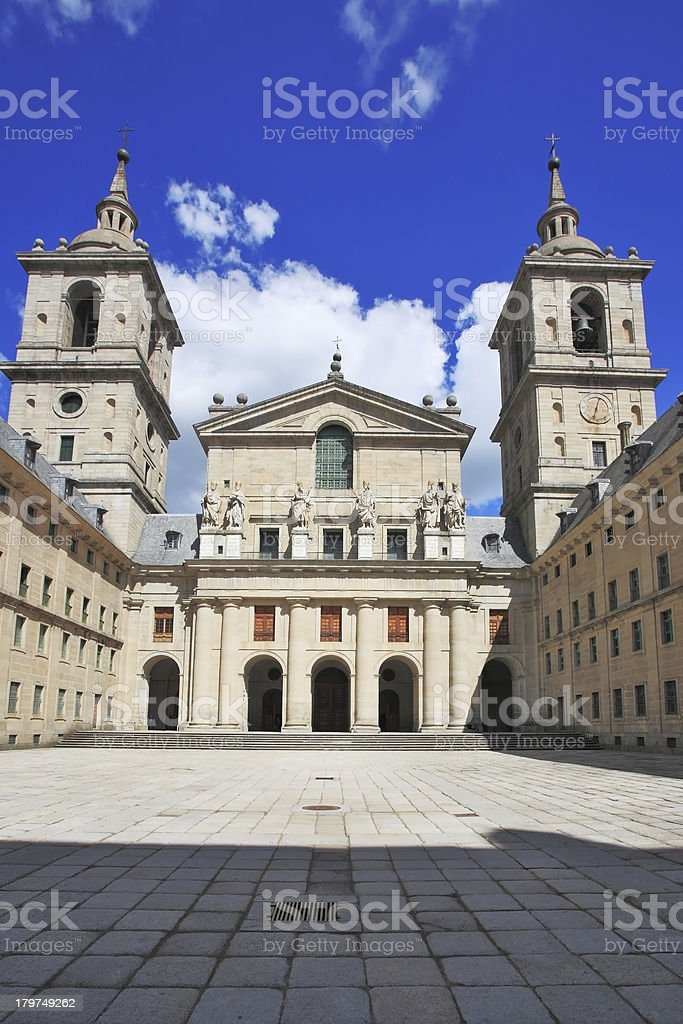 Monastery and Site of the Escorial royalty-free stock photo
