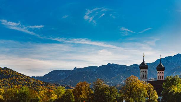 Kloster Benediktbeuren im Herbst, Deutschland – Foto
