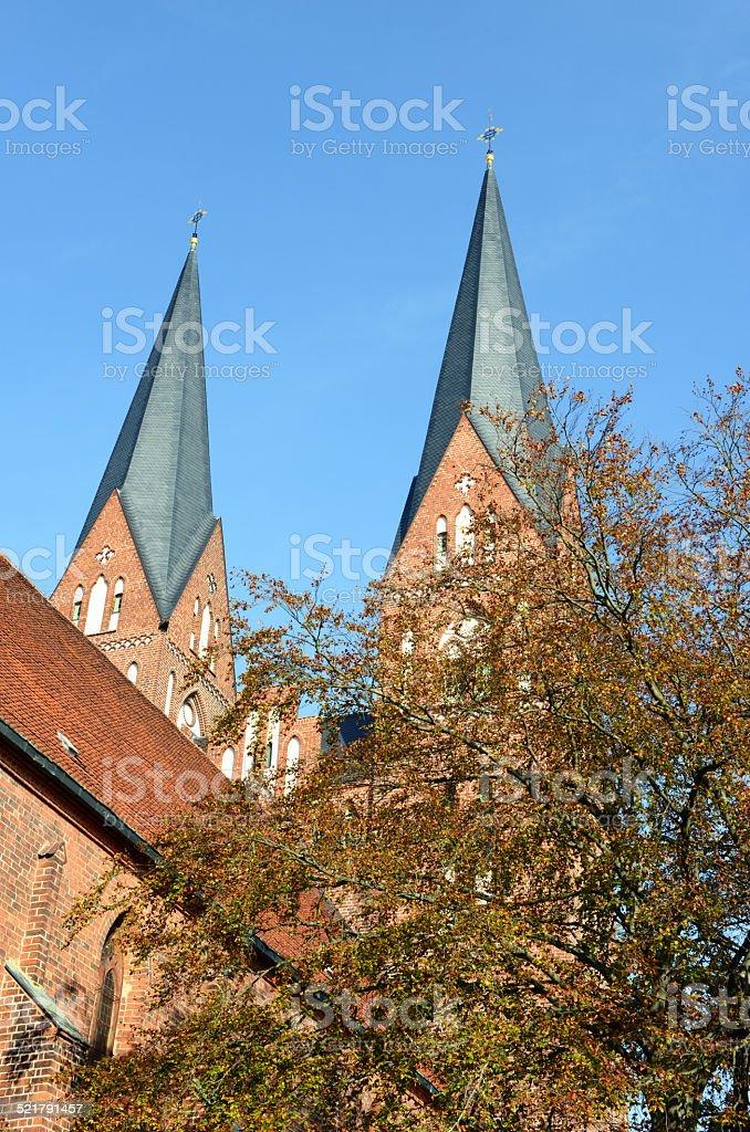 monastery church in Neuruppin (Brandenurg - Germany) stock photo