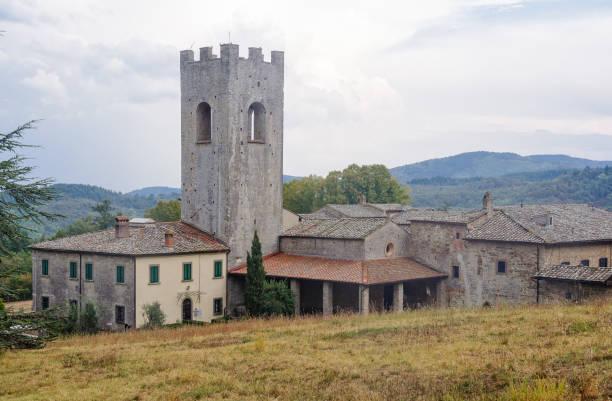 Monastery - Coltibuono stock photo