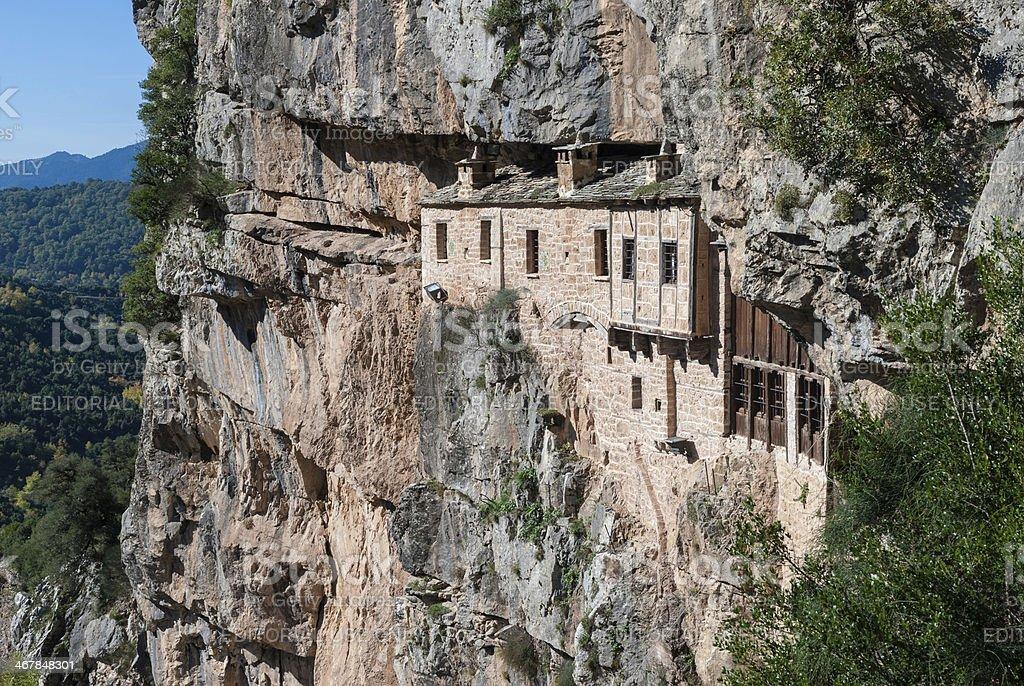 Monastery in Greece stock photo