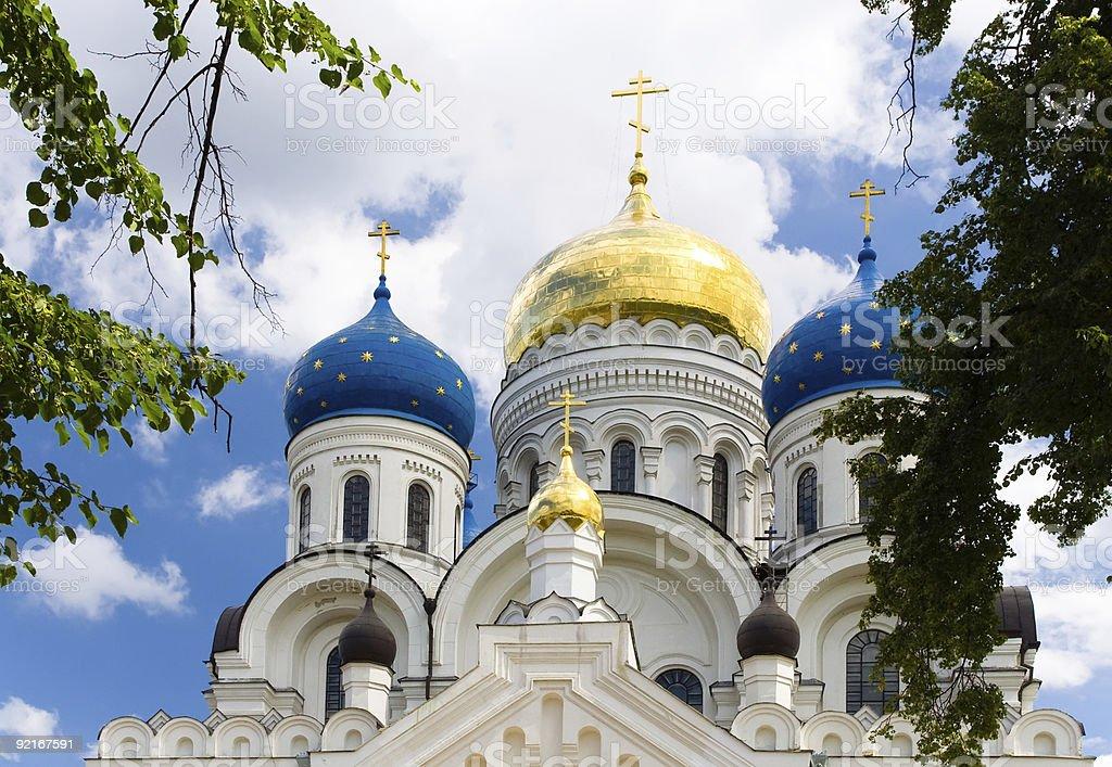 monastery in Moscow region royalty-free stock photo