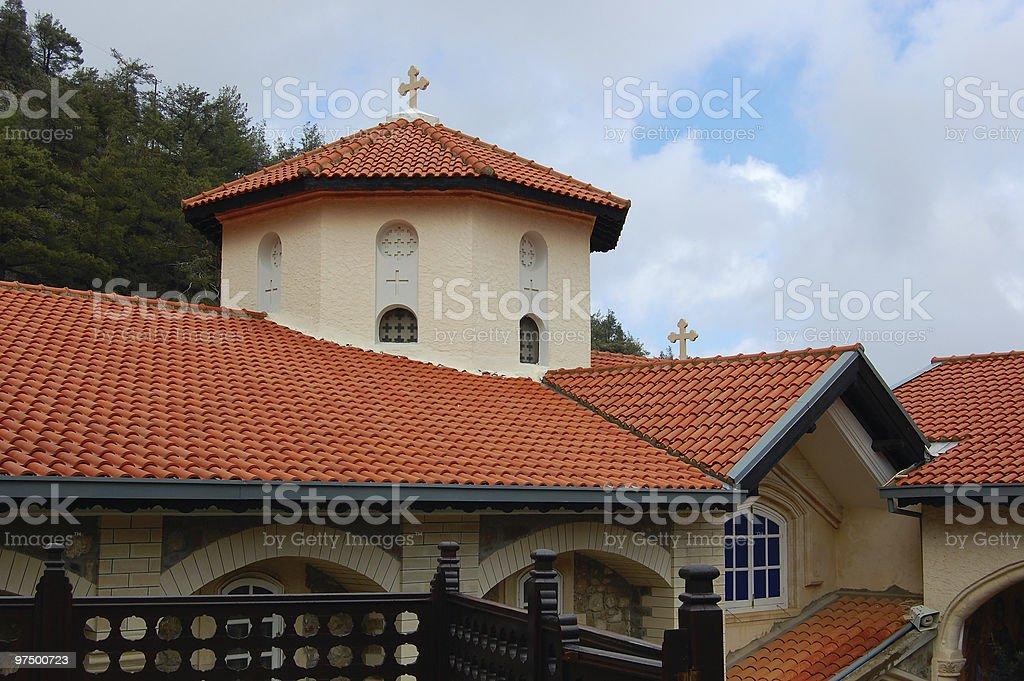 monastery Kykkos in Cyprus. royalty-free stock photo