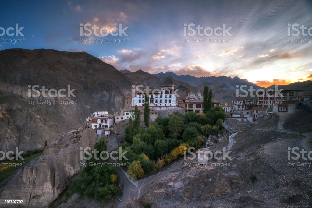 monastery lamayuru Ladakh India stock photo