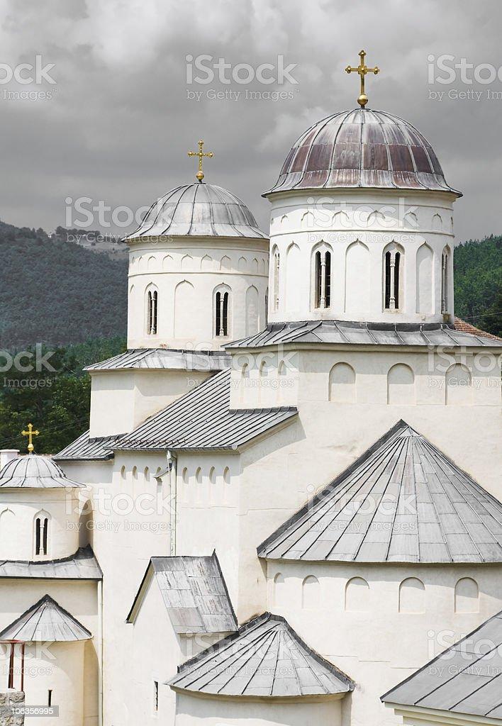 monastery  Milesevo,Serbia royalty-free stock photo