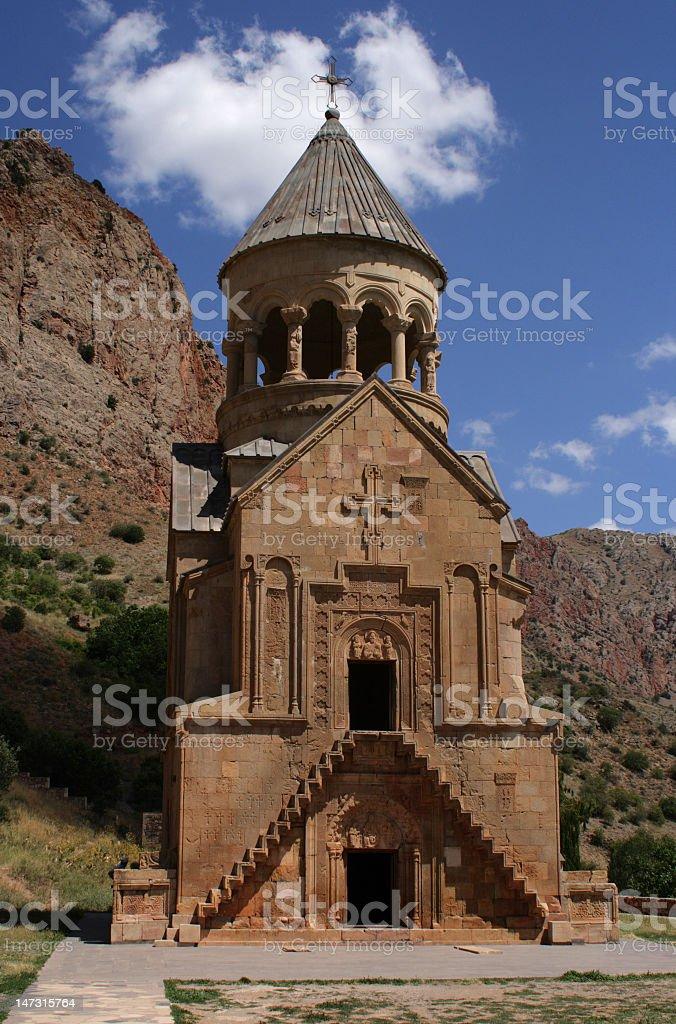 Monastery Noravank, Armenia royalty-free stock photo