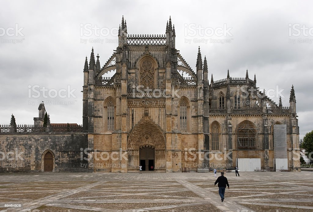 Kloster Batalha, Portugal Lizenzfreies stock-foto