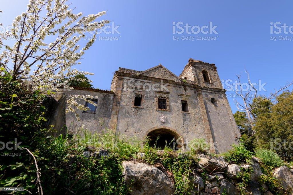 Monastère de Convento Nossa Senhora Desterro, Monchique - Photo de Algarve libre de droits