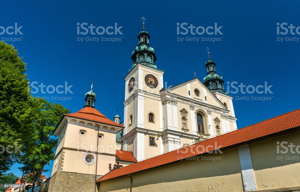 Monastery of Kalwaria Zebrzydowska, a UNESCO world heritage site in Poland stock photo