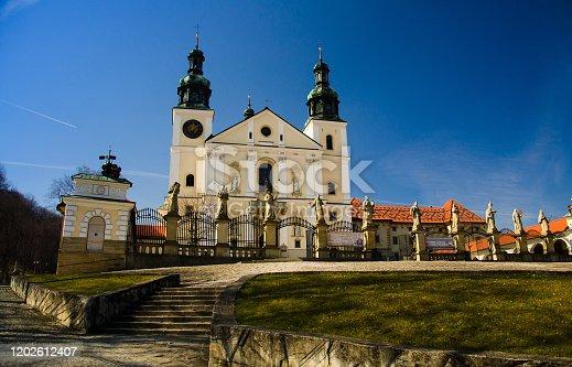 Sanctuary Monastery of Kalwaria Zebrzydowska UNESCO World Heritage Site near Krakow, Poland