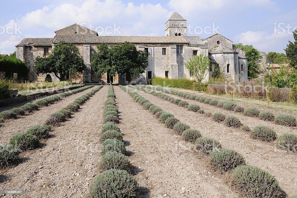 Monastery of Saint Paul de Mausole royalty-free stock photo
