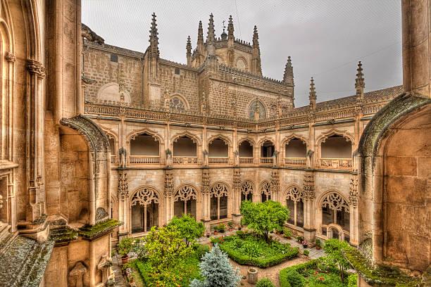 Monasterio de San Juan de los Reyes in Toledo, Spain – Foto
