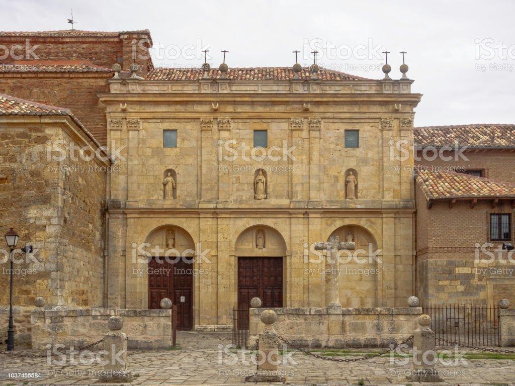Monastery of Santa Clara - Carrion de los Condes stock photo