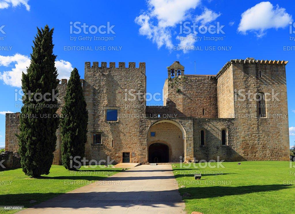 Monastery of Santa Maria de Flor da Rosa stock photo