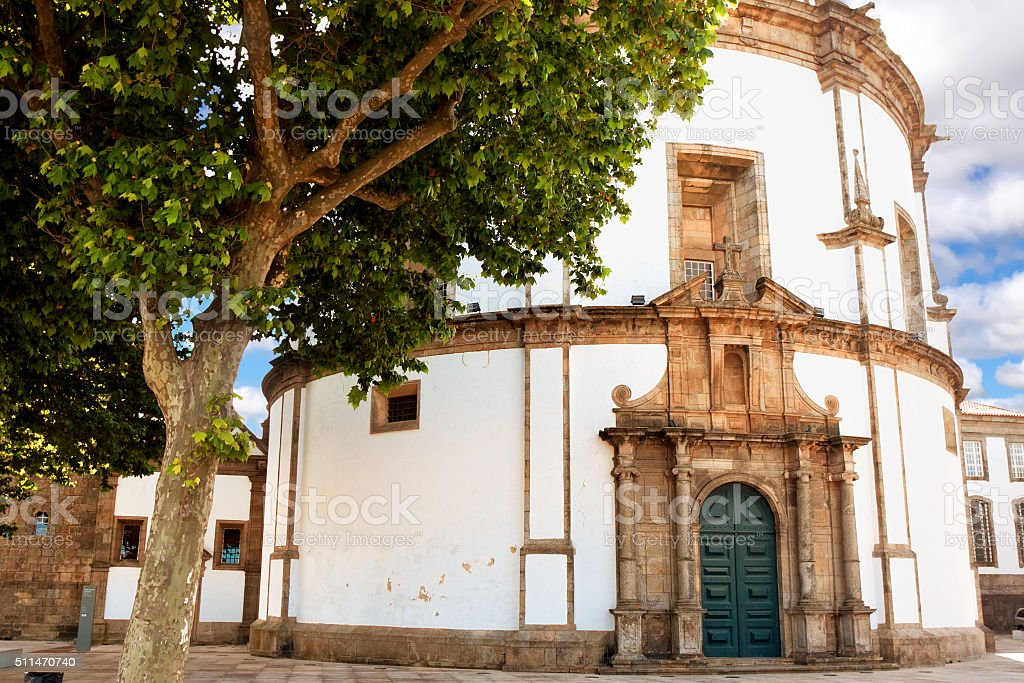 Monastery da Serra do Pilar in Vila Nova de Gaia stock photo