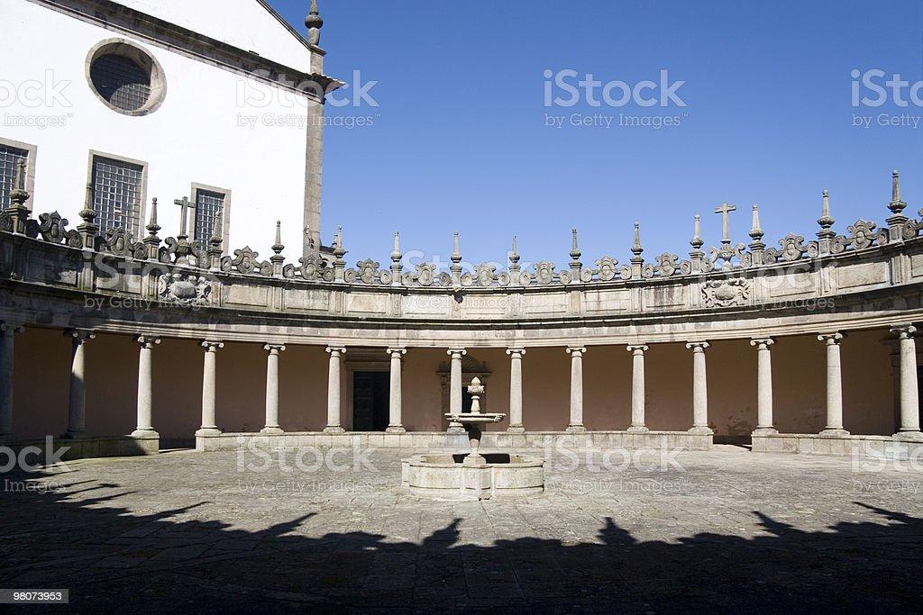 Monastery of Serra do Pilar royalty-free stock photo