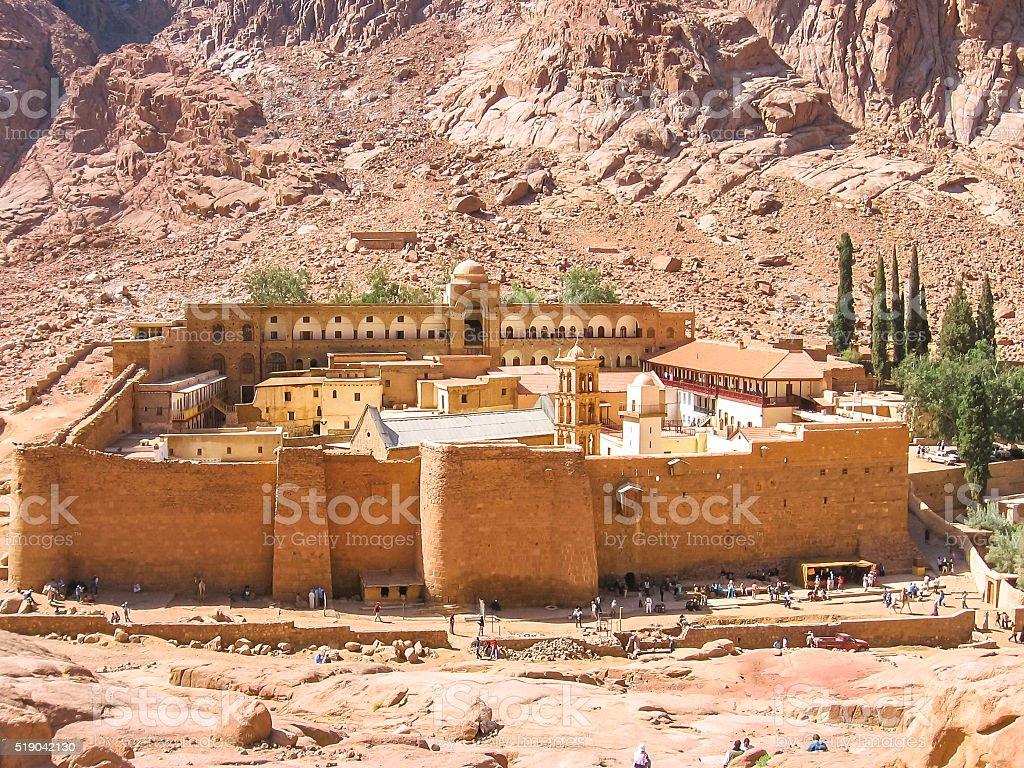 修道院のセントキャサリンエジプト ロイヤリティフリーストックフォト