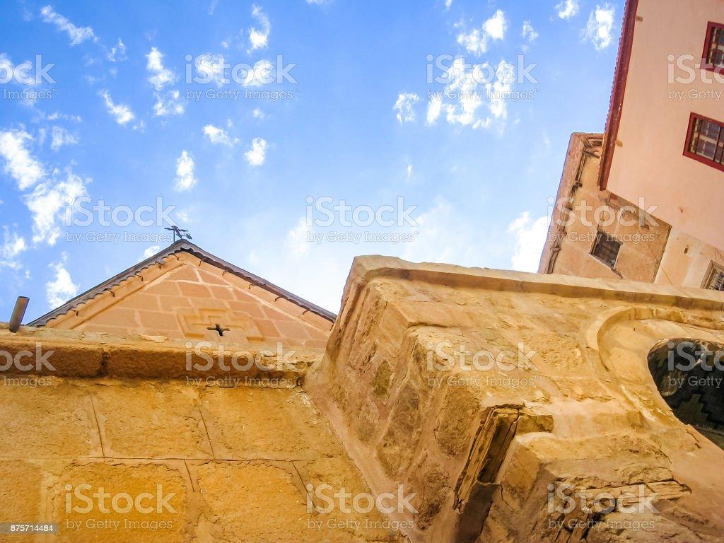 Monastery of St. Catherine stock photo