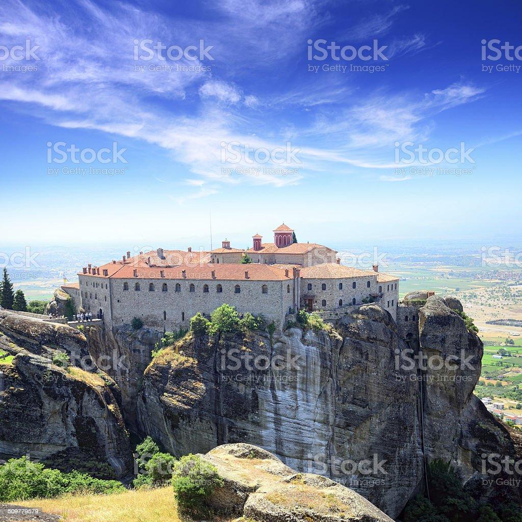 Monastery of St. Stephen stock photo