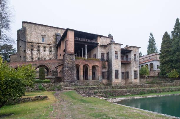 Monasterio de Yuste, Extremadura, España. En 1556 Carlos V, emperador romano santo se retiró a Monasterio de Yuste - foto de stock