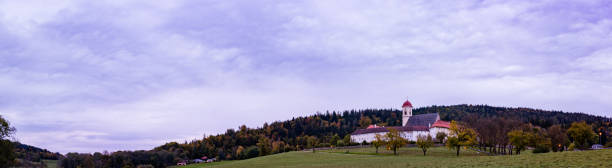 Kloster-Panorama am Morgen – Foto
