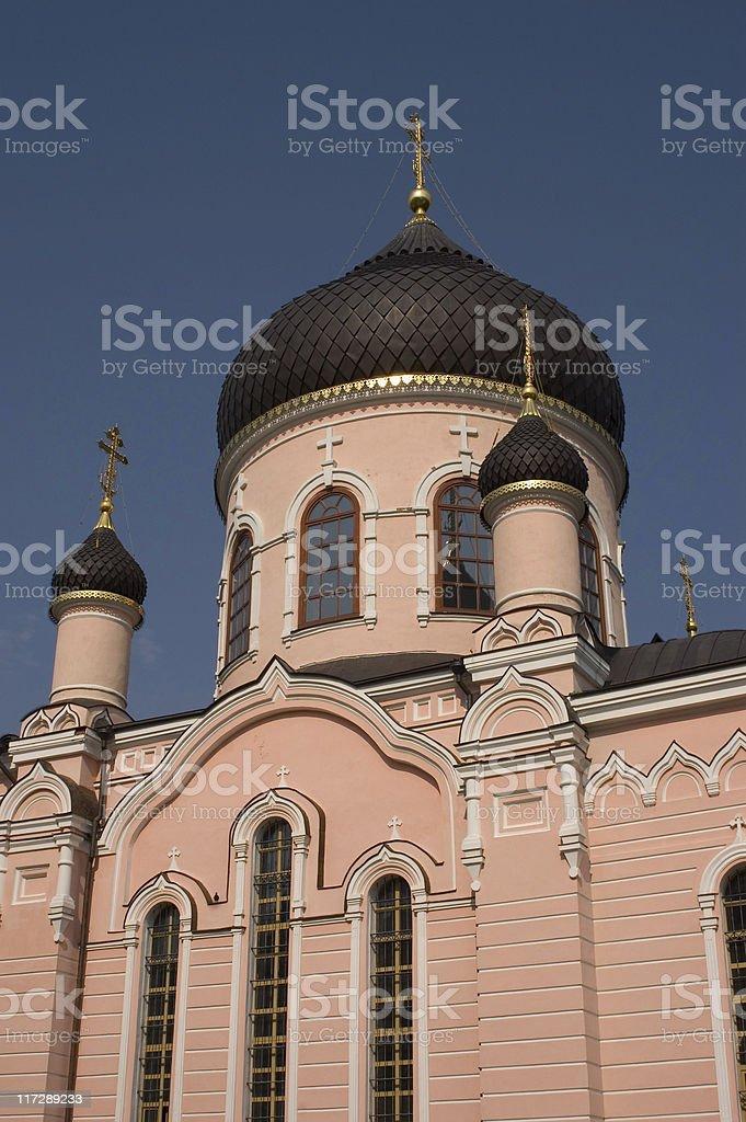 monastery royalty-free stock photo