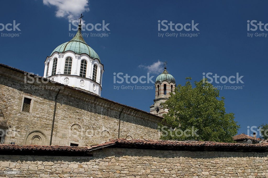 Monastery royalty-free stock photo
