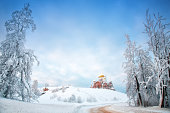 Belogorsky man's monastery in the Perm edge (Russia)