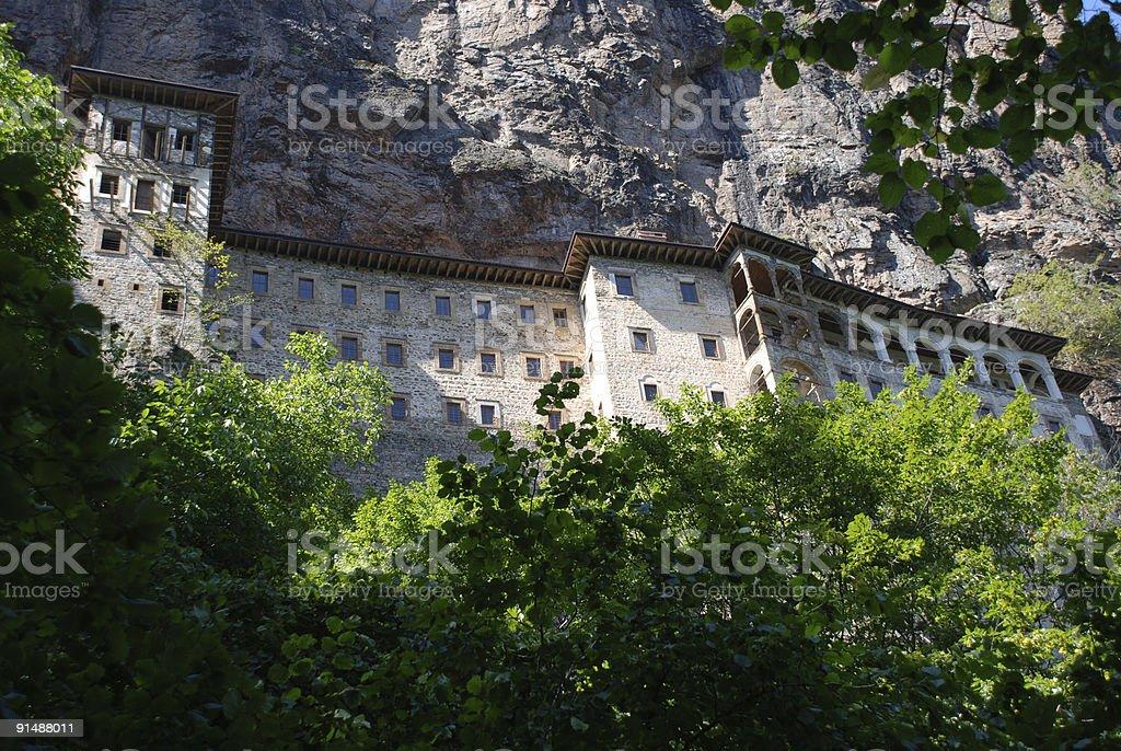 Monastery stock photo