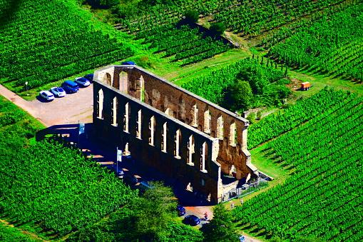 monastery ruin Stuben near Bremm in Mosel valley