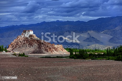 Monastery Stok in Indus Valley,Jammu and Kashmir, Ladakh Region, Tibet, India,Nikon D3x