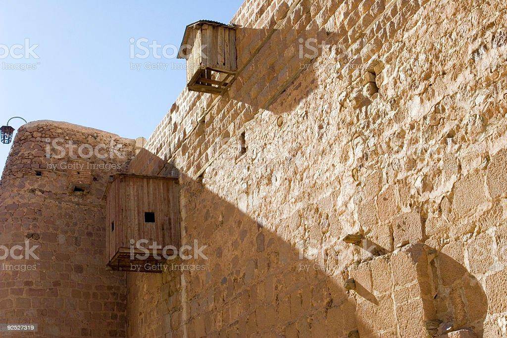 修道院の壁 ロイヤリティフリーストックフォト