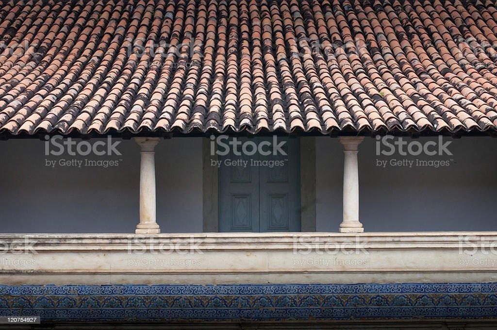 Monastery Zen-like stock photo