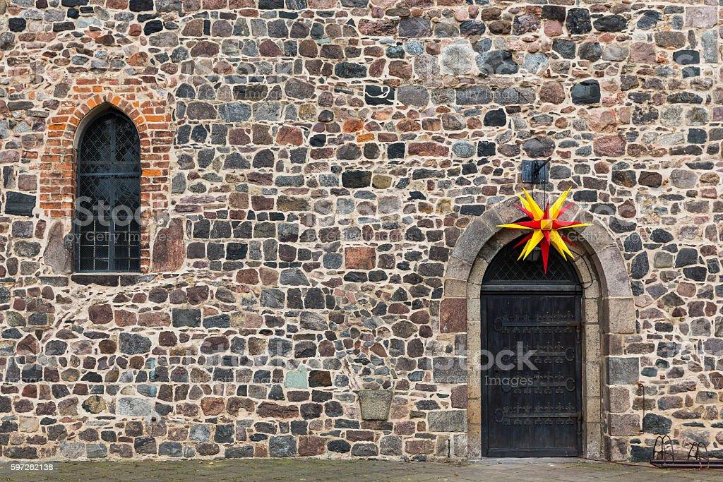 monastery Zinna, Zinna, Germany stock photo