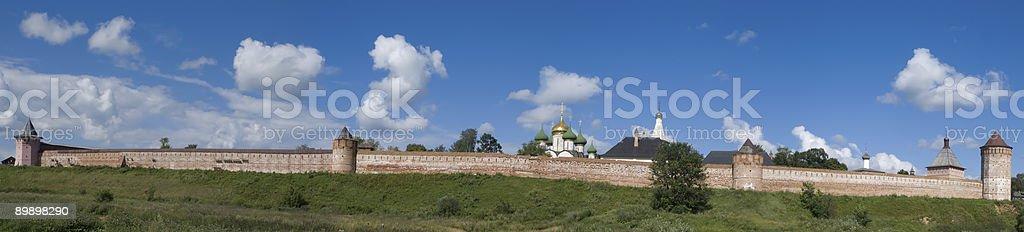 Kloster-Festung in Suzdal Lizenzfreies stock-foto
