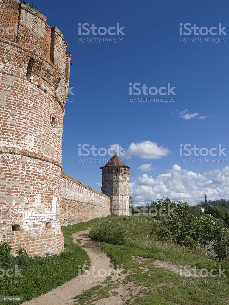 monastery-fortress in Suzdal royalty-free stock photo