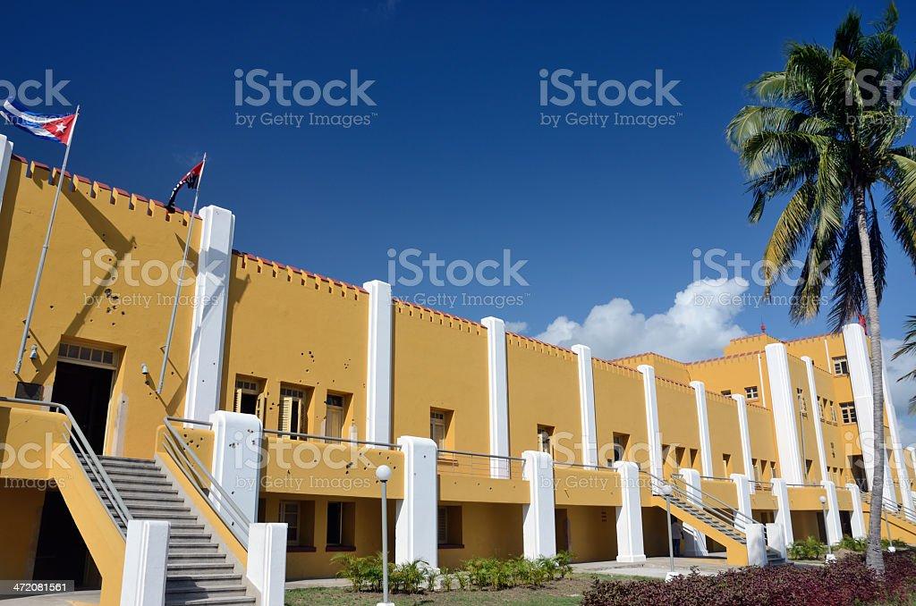 Moncada Barracks stock photo