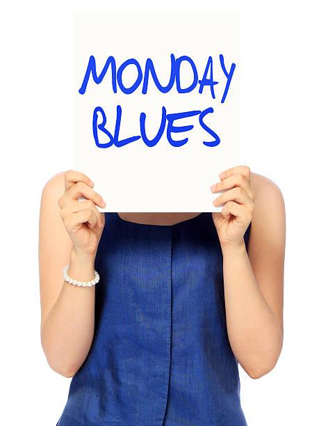 montag-blues - blues stock-fotos und bilder