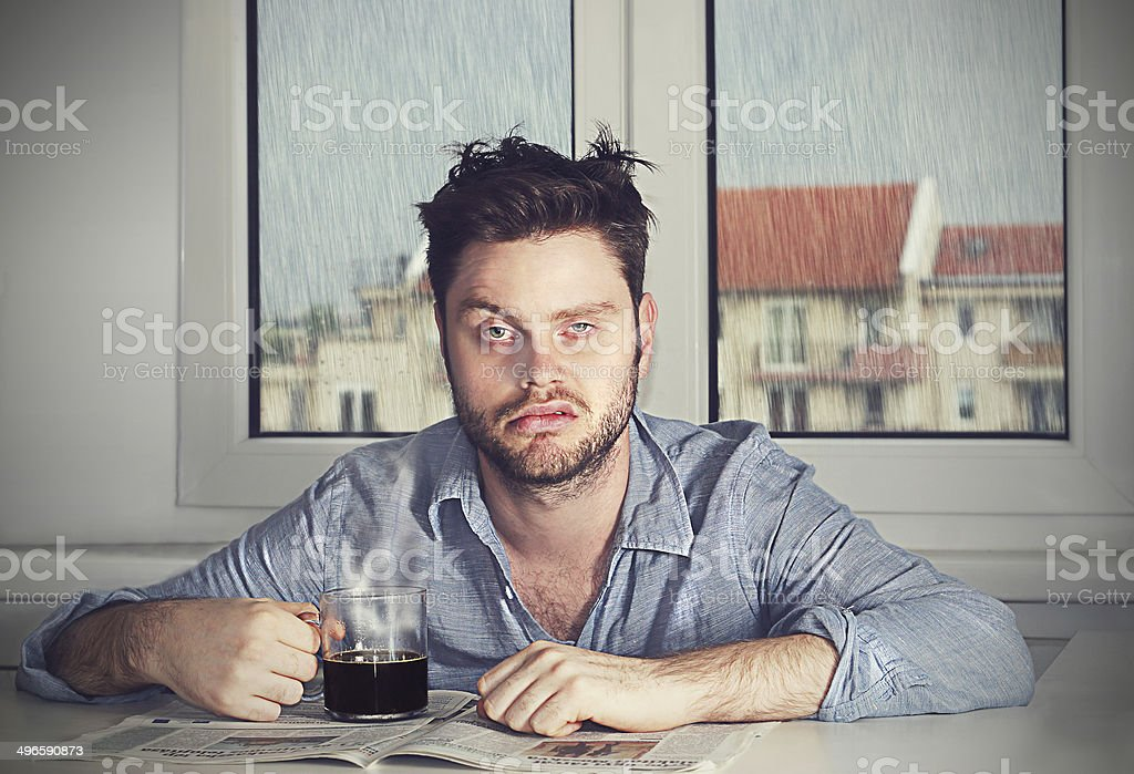 Monday morning again stock photo