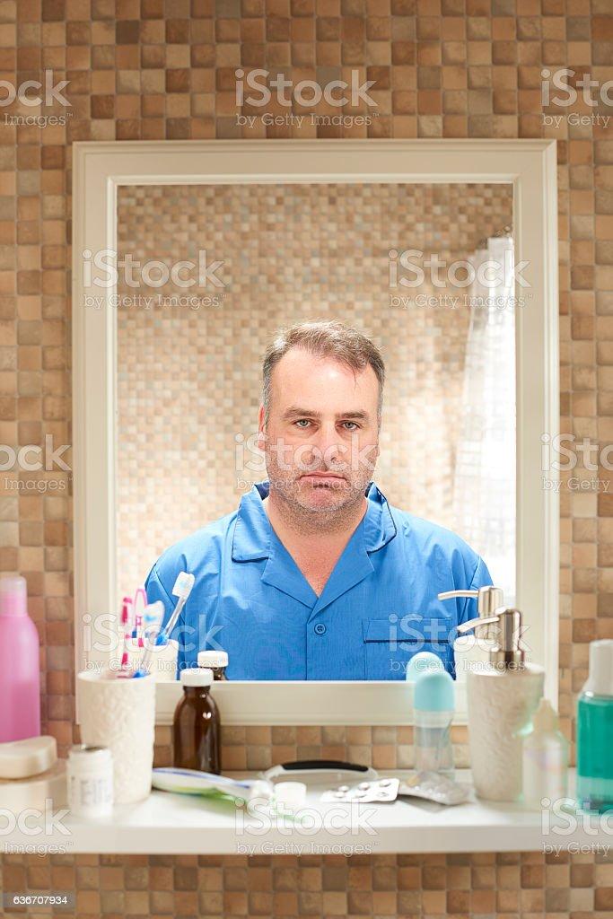 monday morning feeling stock photo