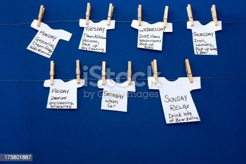 istock Monday's Hanging By A Thread 173801887