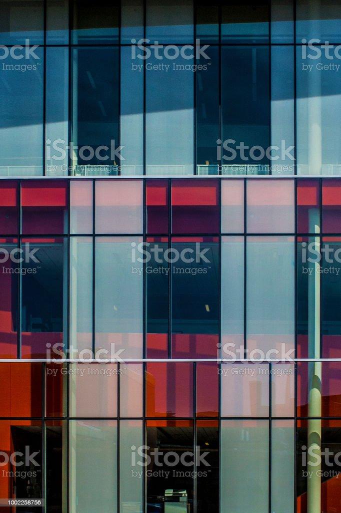 Mondrian Architecture stock photo