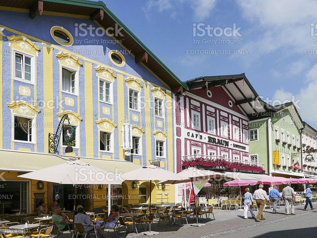 Mondsee, Austria stock photo