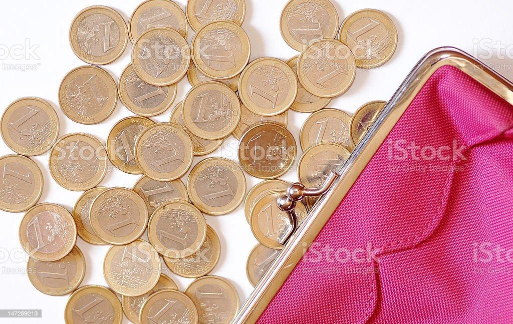 Monedas stock photo